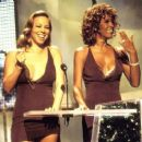 Mariah Carey and Whitney Houston At The MTV Video Music Awards 1998 - 454 x 378