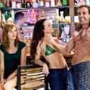 Kristen Bell, Malin Akerman, Kristin Davis and Carlos Ponce in the scene of Universal Pictures' Couples Retreat.