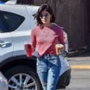 Lucy Hale in Jeans – Out in Studio City