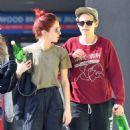 Kristen Stewart and Sara Dinkin – Leaving a gym in Hollywood - 454 x 681
