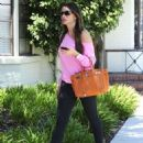 Sofia Vergara stopping by a dermatologist in Beverly Hills, California (August 16)