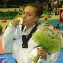 French female taekwondo practitioners