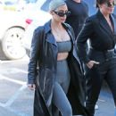 Kim Kardashian – Arriving for a sushi lunch in LA