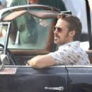 Ryan Gosling continues to film scenes for the new movie