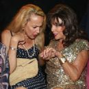Jerry Hall and Joan Collins