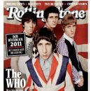 Pete Townshend, Keith Moon, Roger Daltrey, John Entwistle - Rolling Stone Magazine Cover [Germany] (January 2012)