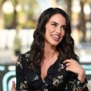 Jessica Lowndes – Visits 'Extra' at Universal Studios Hollywood in Universal City - 454 x 683