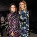 Jenna-Louise Coleman – Erdem Spring/Summer Collections 2017 Show in London 9/19/2016 - 454 x 713