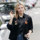 Chloe Moretz – Leaves an office building in West Hollywood - 454 x 632