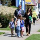 Ben Affleck and Jennifer Garner after church Sunday, March 26th, 2017