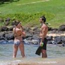Emily Baldoni in Bikini in Hawaii - 454 x 303
