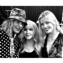 Brett Grace, Stevie Nicks and Georgia May Jagger