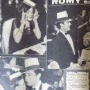 Alain Delon and Romy Schneider - Cine Tele Revue Magazine Pictorial [France] (10 January 1963) - 454 x 620