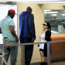 Lamar Odom spotted at Wells Fargo Bank  in Beverly Hills, California on January 31, 2017 - 454 x 571