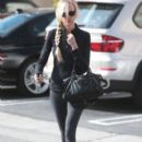 Kimberly Stewart leaving a spa in West Hollywood, California on January 25, 2014