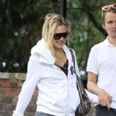 Kate Hudson: making her way to the gym in the Hampstead neighborhood of London