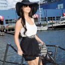 Kim Kardashian and Miles Austin: Yachting Lovers