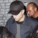 Robert Pattinson  in New York  (November 10, 2014)