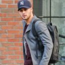 Ryan Guzman is seen leaving the Bowery Hotel in New York City, New York on January 22, 2015. Ryan has been in town promoting his new movie 'The Boy Next Door' - 407 x 600