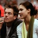 Jessica Alba and Michael Weatherly