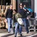 Shannen Doherty in Green Jacket – Shopping in Malibu - 454 x 476