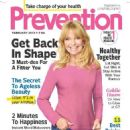 Goldie Hawn - Prevention Magazine Cover [India] (February 2013)