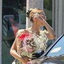Bella Hadid – Leaving a floral shop in LA
