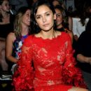 Nina Dobrev – The Marchesa Spring/Summer 2017 Fashion Show – NYFW 09/14/2016 - 454 x 651