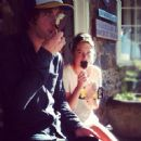 Andrew VanWyngarden and Camille Rowe