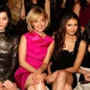 Nina Dobrev made the rounds at the 2012 New York Fashion Week today, February 11!