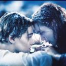 LEONARDO DI CAPRIO AND KATE WINSLET IN  ''TITANIC'' 1997