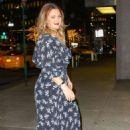 Drew Barrymore in Long Dress – Shopping in NY