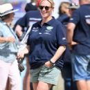 Zara Tindall at Magic Millions Festival of British Eventing in Gloucestershire