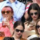Maisie Williams and Diana Silvers – Wimbledon Tennis Championships 2019 in London - 454 x 364