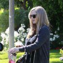 Amanda Seyfried Leaving a friends house in Studio City