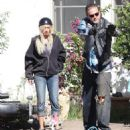 Actress Ashley Tisdale gets slapped around on the set of