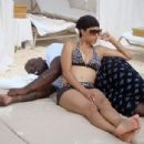 Shaquille O'Neal and Alexis Miller