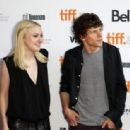 Actress Dakota Fanning arrives at the Jason Reitman live read of