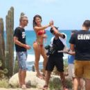 Amanda Cerny shoots a sexy music video for DJ Chuckie directed by Dirty Dutch Mario Gonsalvez, in Oranjestad Aruba on September 10, 2014 - 454 x 297