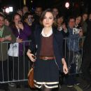 "Keira Knightley poses up outside the Comedy Theatre after her most recent performance in ""The Children's Hour"". Knightley will voice the character of Tinker Bell in the upcoming made for TV film ""Neverland""."