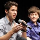 Nick Jonas and Greyson Chance attended the 7th Annual GRAMMY Camp, July 14, in Los Angeles, CA