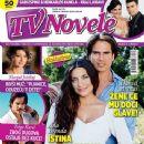 Daniel Arenas, Ana Brenda Contreras - TV Novele Magazine Cover [Serbia] (April 2014)