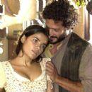 Malvino Salvador and Vanessa Giácomo