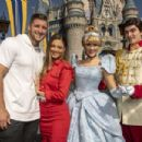 Tim Tebow And Fiancè Demi-Leigh Nel-Peters Celebrate At Walt Disney World - 454 x 303