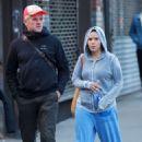 America Ferrera out in Manhattan