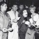 Jerry Lewis, Adam West, Dick Shawn, Cesar Romero, Connie Stevens and Jane Wald