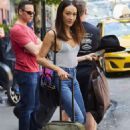 Maggie Q – Leaving Her Hotel in New York - 454 x 681
