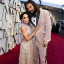 Jason Momoa and Lisa Bonet - 91st Annual Academy Awards - Arrivals - 406 x 600