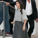 Selena Gomez Arriving At Nrj Radio Studios In Paris