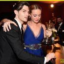 Brie Larson and Alex Greenwald - 454 x 382